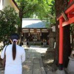 安倍晴明神社の境内です。