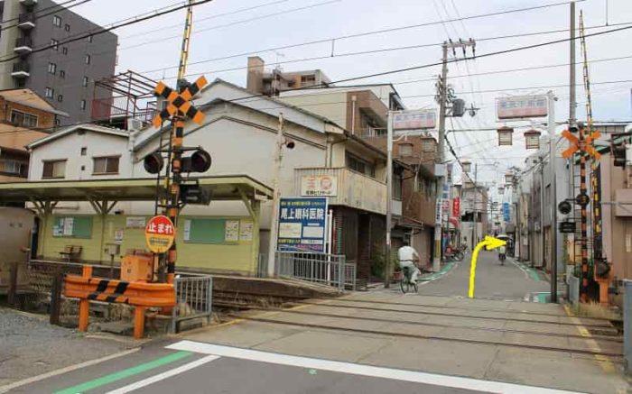 阪堺上町線の東天下茶屋駅です。