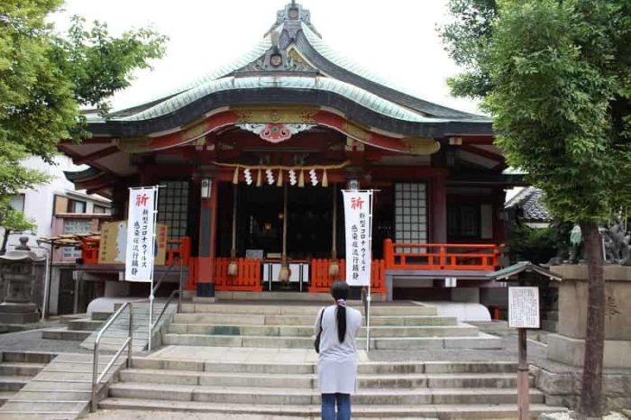 阿倍王子神社の社殿です。