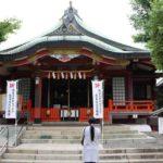 阿倍王子神社の本殿です。