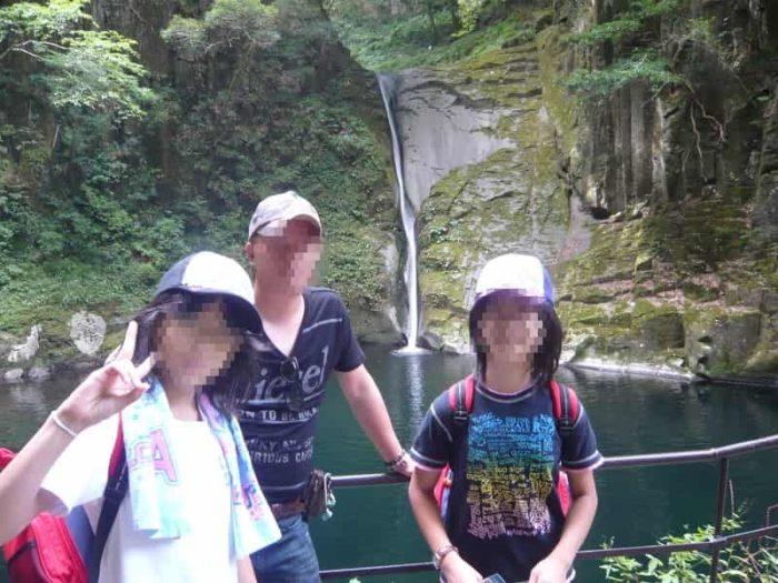 『赤目五瀑』の1つ『布曳滝』です。