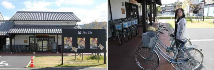 海の京都・宮津のレンタサイクルです。