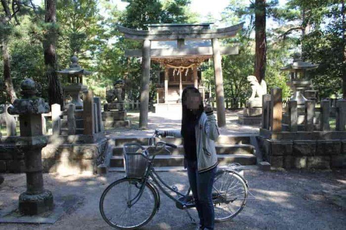 パワースポットの天橋立神社です。
