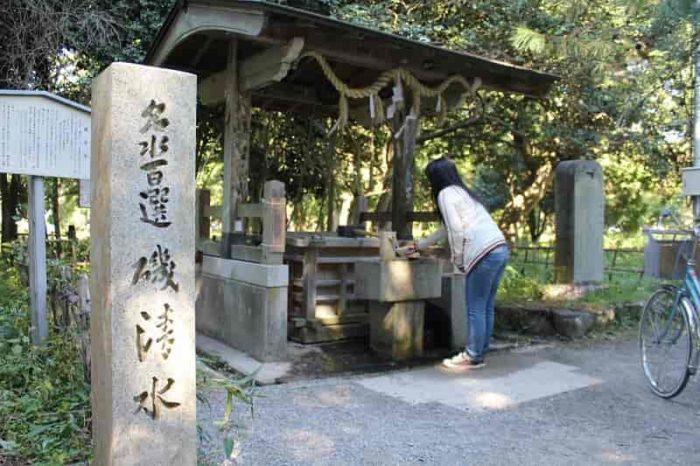 『日本名水100選』の『磯清水』です。