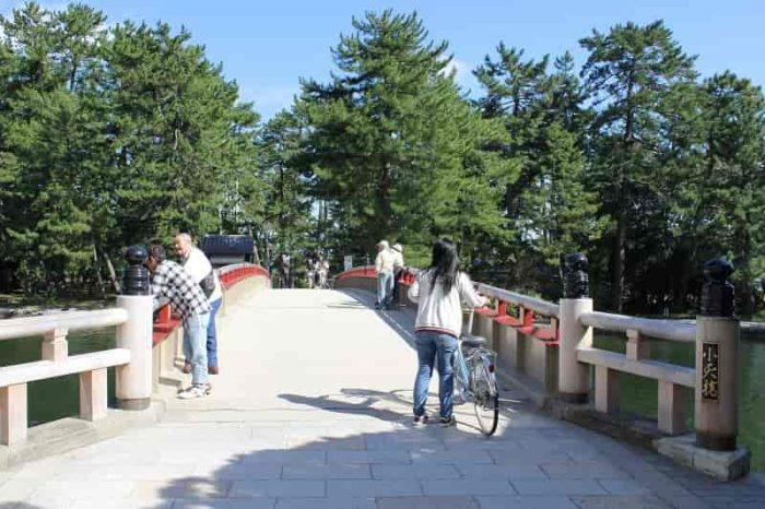 小天橋は可動式の『廻旋橋』です。
