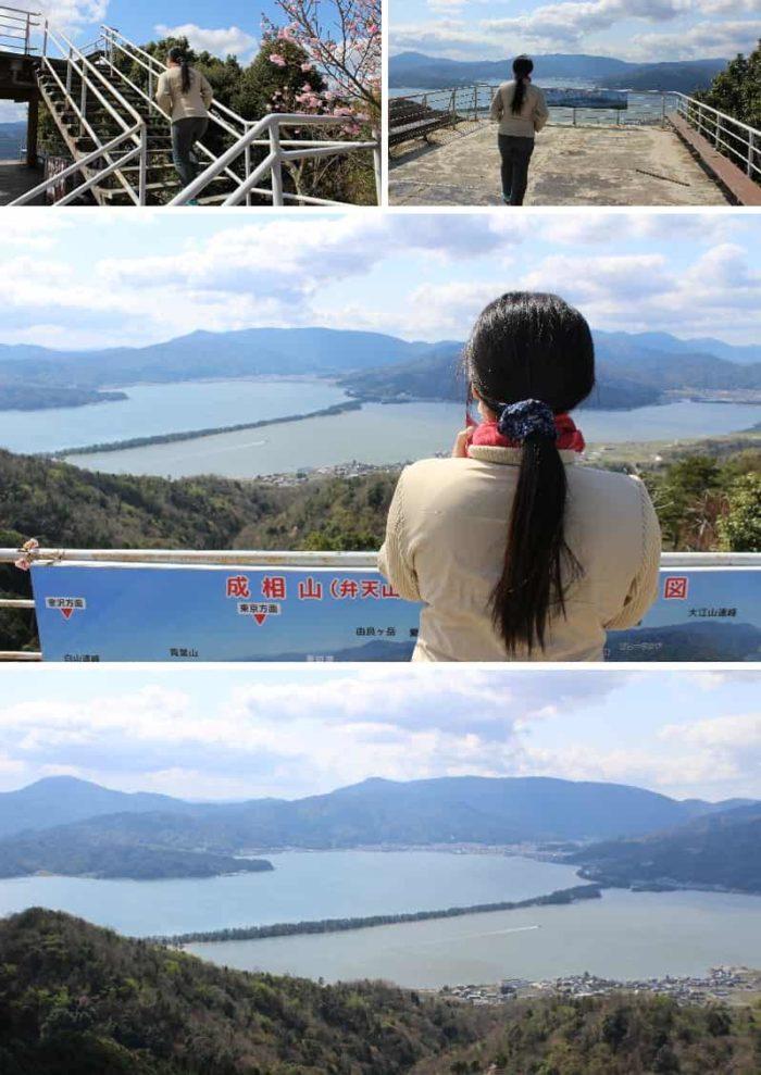 日本三景のひとつ天橋立です。