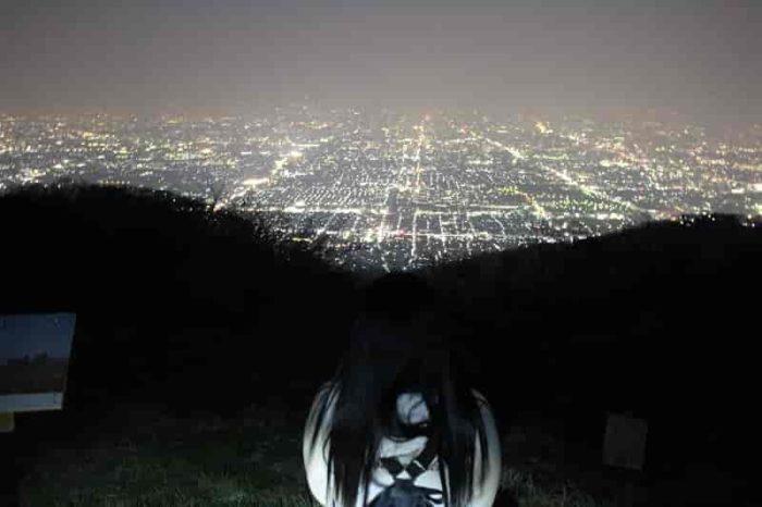 ぼくらの広場から眺めた夜景です。