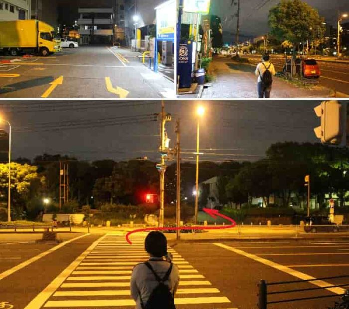 道路を隔てた前が「千島公園」です。