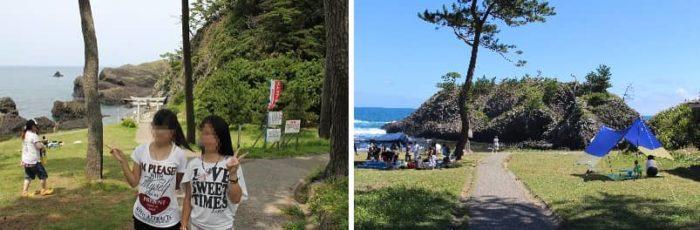 越前松島の風景です。