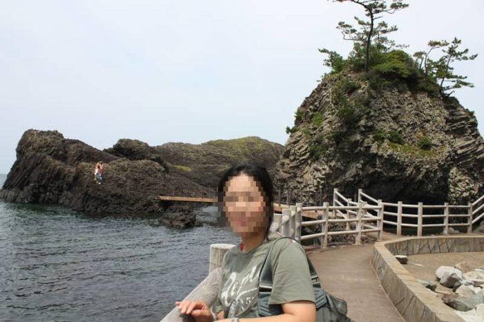 越前松島の素晴らしい景観です。
