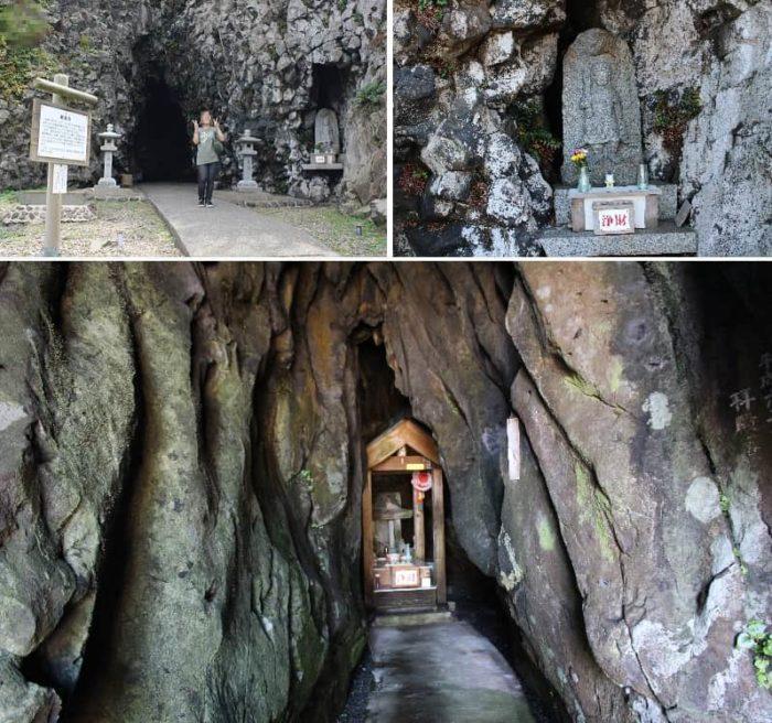 松島三洞穴のひとつ観音堂です。