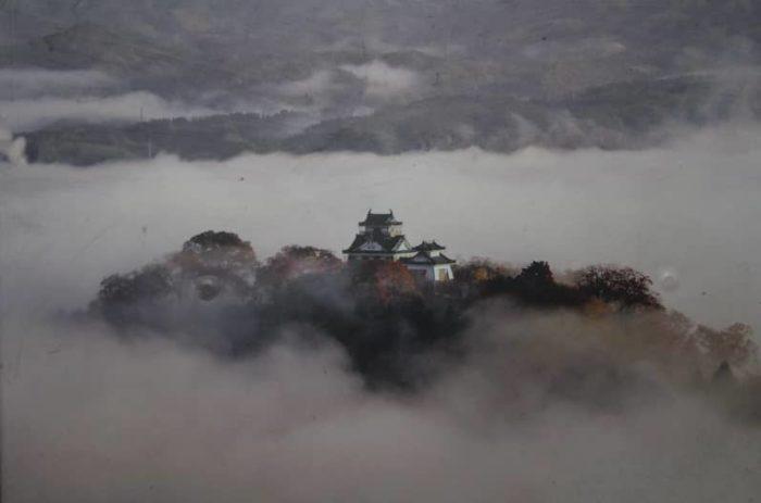 天空の城と呼ばれる越前大野城です。