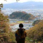 越前大野城撮影スポットで望む景色です。