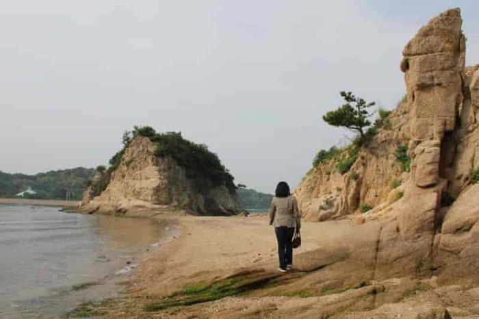 『弁天島』より先の散策です。