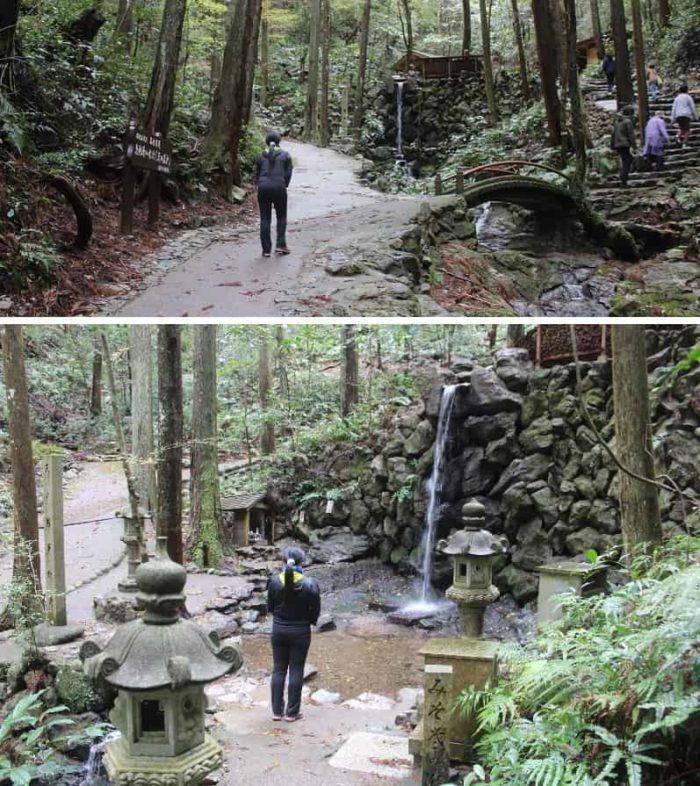 天の岩戸「禊滝」です。