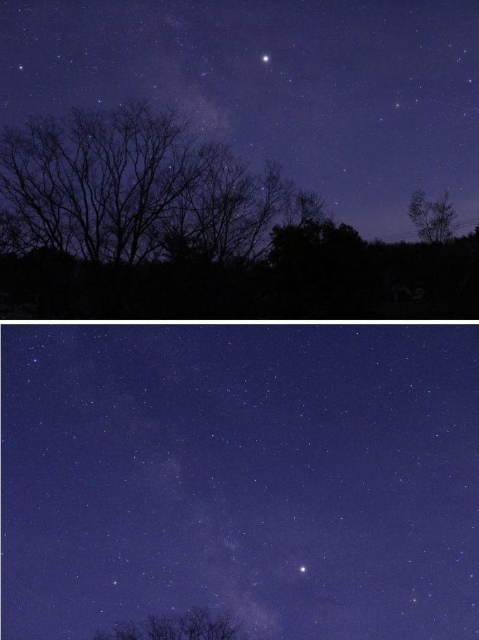奈良県屈指の星空が綺麗なスポットです。