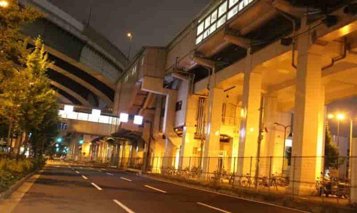 大阪メトロ中央線の朝潮橋駅です。