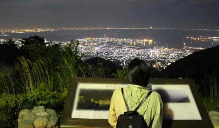 日本夜景遺産の認定を受けた夜景です。