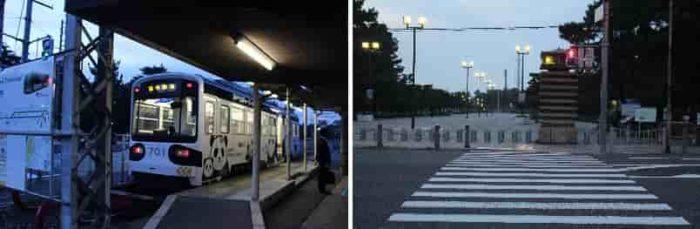 阪堺電軌阪堺線の浜寺公園駅です。