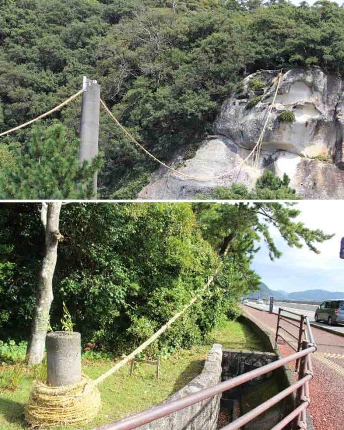 日本一の長さを誇る大綱です。