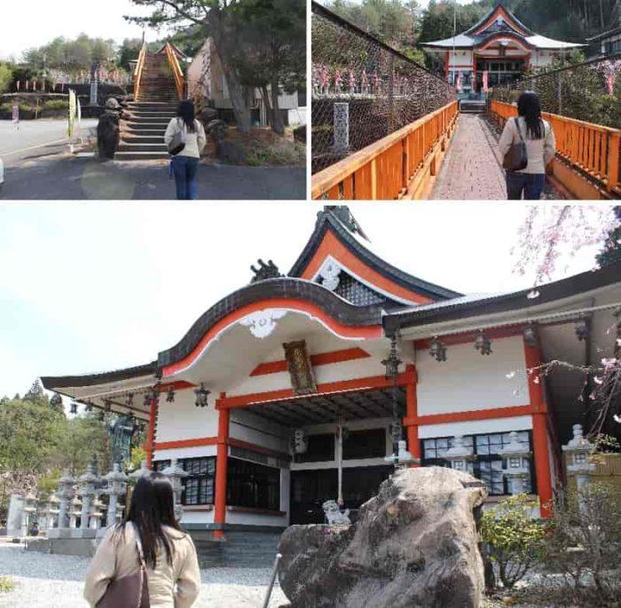 花坂不動尊の本堂です。