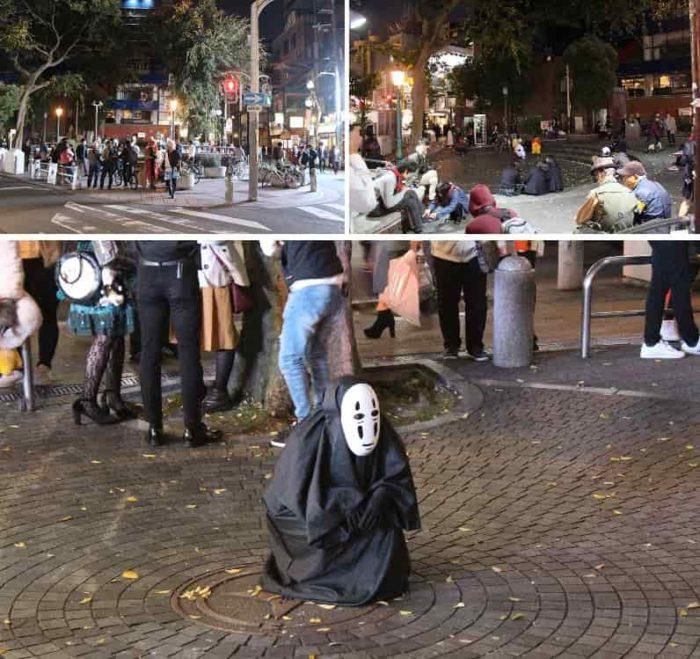 ハロウィン仮装イベントの様子です。