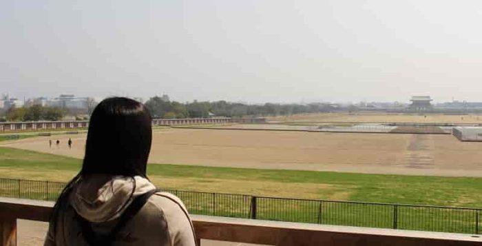 『大極殿』から眺める景色です。