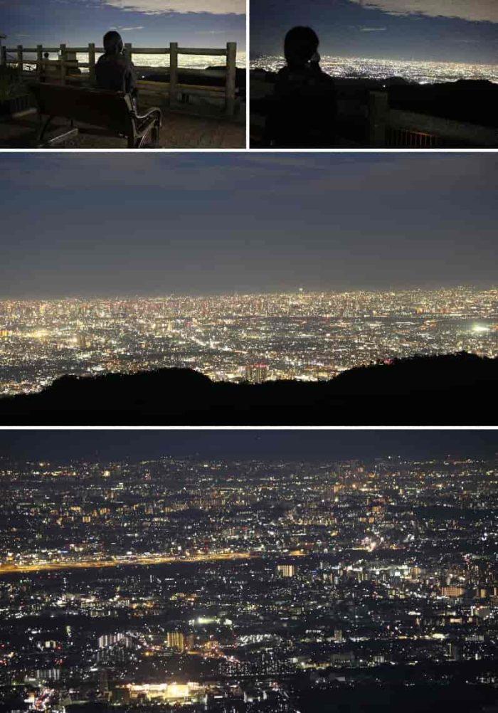 東六甲随一と呼ばれる夜景です。