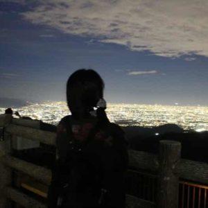 東六甲展望台から望む夜景です。