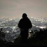 枚岡山展望台から眺める景色です。