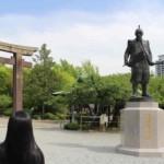 『豊臣秀吉公』の銅像です。