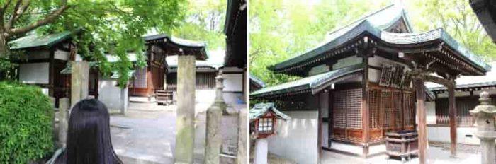 『若永神社』と『白玉神社』です。