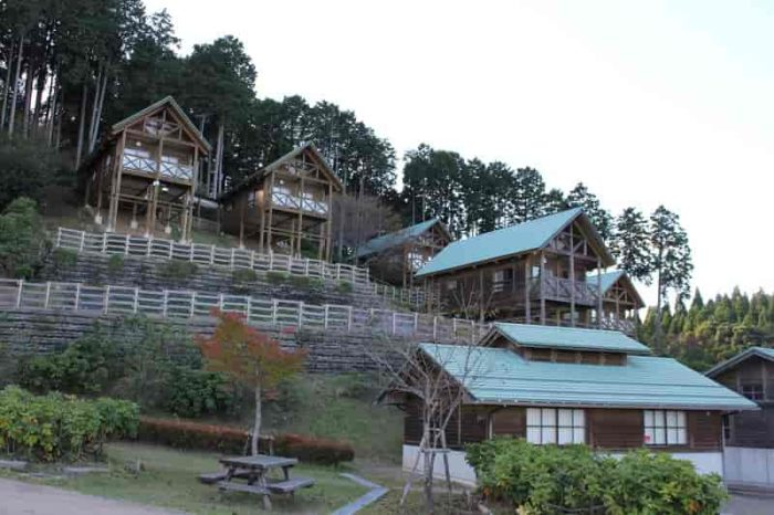 大内峠一字観公園にあるキャンプ場です。