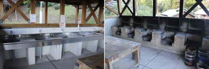 きれいな炊事棟が完備されています。