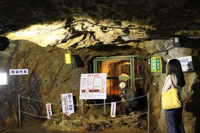 1200年の歴史を持つ生野銀山です。