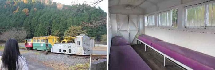 鉱石輸送車であった『1円電車』です。