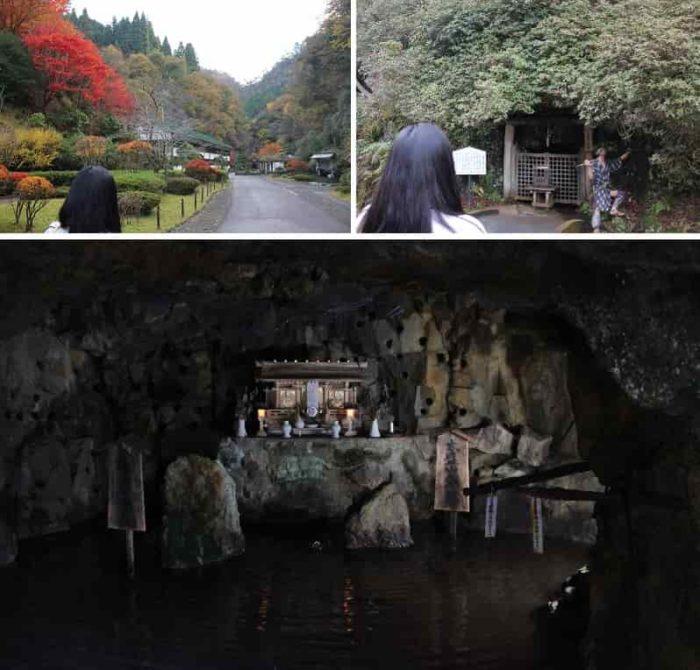 徳川時代の末期の手掘りの洞窟です。