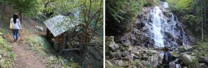 『3の滝』の滝壺に向かいます。