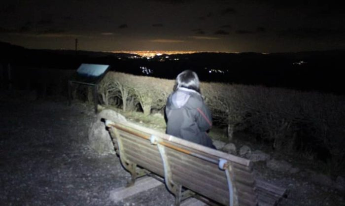 猪名川天文台より望む夜景です。