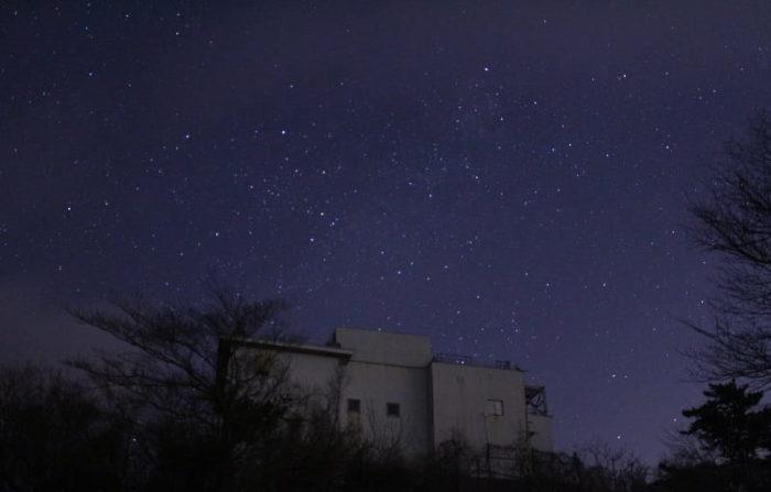 猪名川天文台で眺められる星空です。