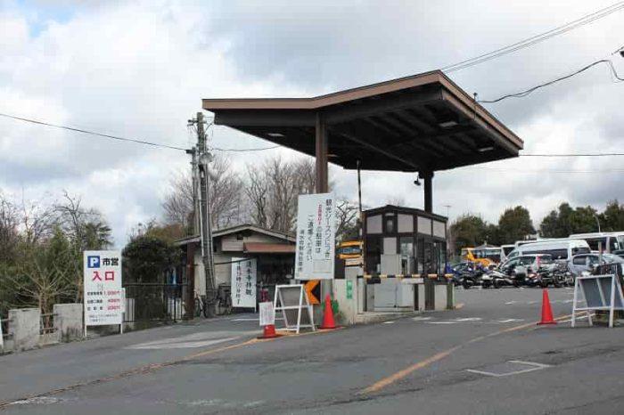 京都市清水坂観光駐車場です。