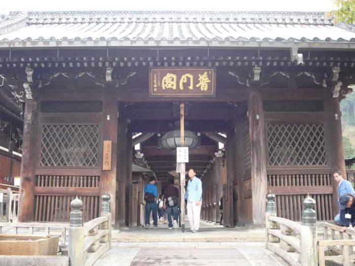 清水寺の轟門です。