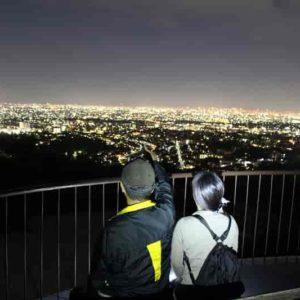 甲山森林公園の展望台からの眺めです。