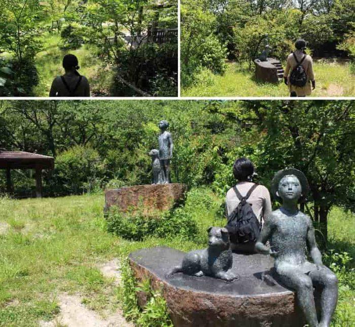 ブロンズ像の『愛情の像』です。