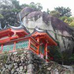 熊野の神々が降臨した「ゴトビキ岩」です。