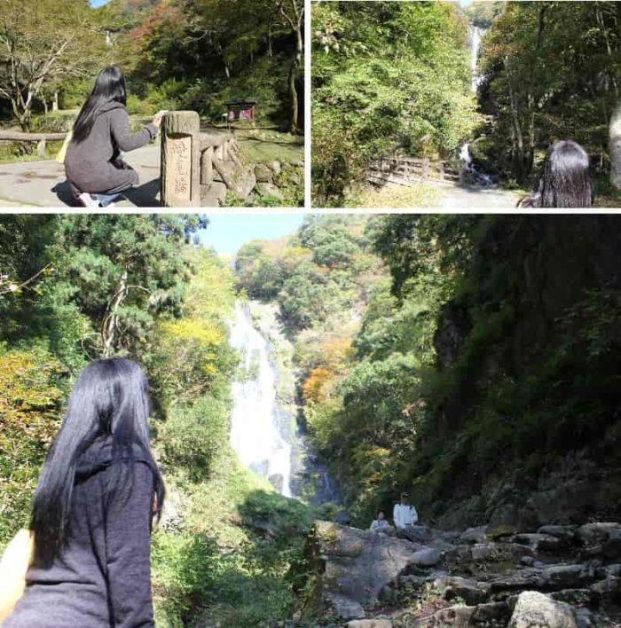 日本の滝100選の『神庭の滝』です。