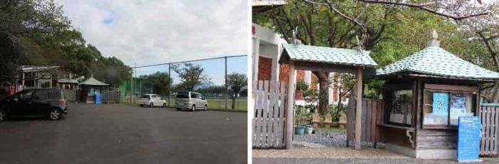 歓喜神社の無料の駐車場です。
