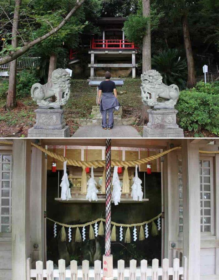 ひもろぎ形式の『祭祀礼拝所』です。