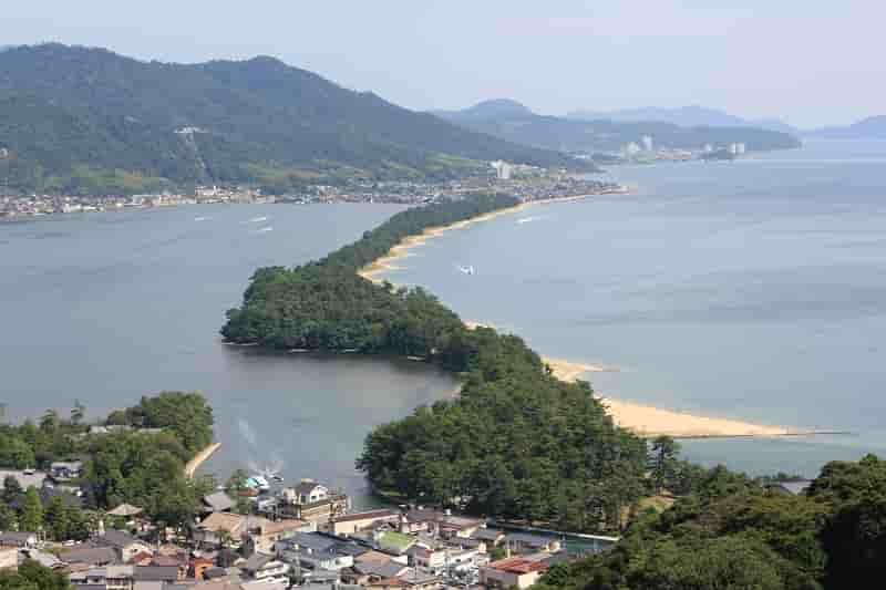 京都府が誇る日本三景「天橋立」です。