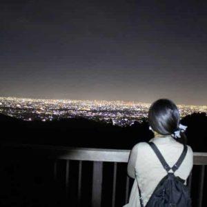 神呪寺の展望スペースからの眺めです。